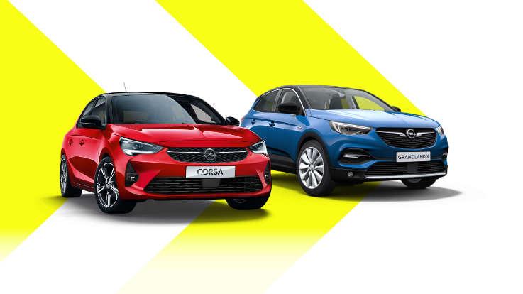 Автомобілі Opel у наявності на складах в Україні