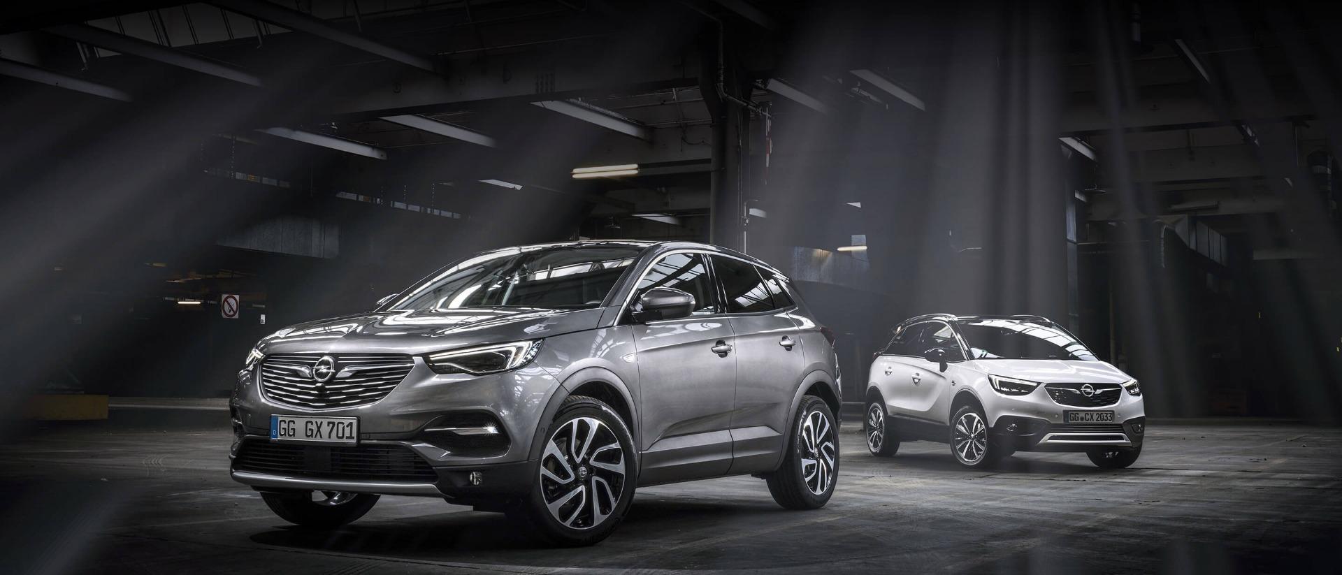 Opel Grandland X, Opel Crossland X, зовнішній вигляд