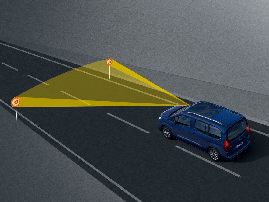 Розпізнавання знаків обмеження швидкості
