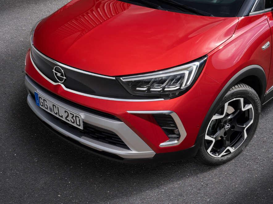 Opel Crossland, зовнішній вигляд, передок