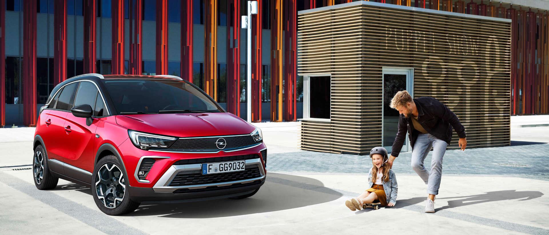 Opel Crossland, зовнішній вигляд, люди
