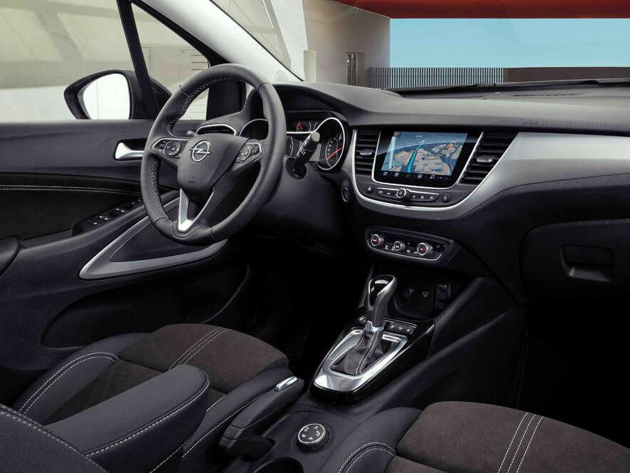Opel Crossland, інформаційно-розважальна система