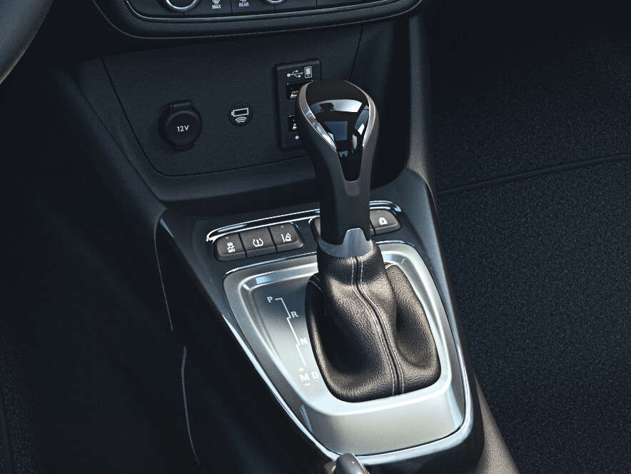 Opel Crossland, Шестишвидкісна автоматична коробка передач