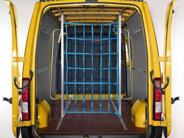 Opel, Movano, вантажне відділення, безпечне перевезення